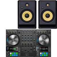 Image of Native Instruments Traktor Kontrol S4 & Rokit RP8 G4 Package
