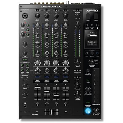 Image of Denon DJ X1850 Prime Professional 4-Channel DJ Club Mixer
