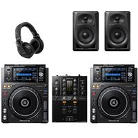 Image of Pioneer XDJ1000 Mk2 & DJM250 Mk2 Bundle