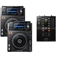 Image of Pioneer XDJ1000 MK2 & DJM250 MK2 Pack