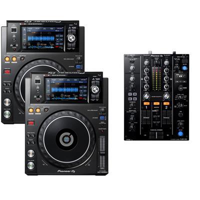 Image of Pioneer DJ XDJ1000 MK2 & DJM450 Pack