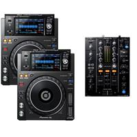 Image of Pioneer XDJ1000 MK2 & DJM450 Package