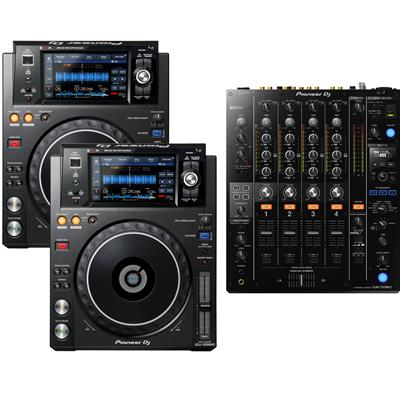Image of Pioneer DJ XDJ1000 Mk2 & DJM750 Mk2 Pack