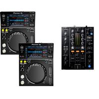 Image of Pioneer XDJ700 & DJM450 Pack