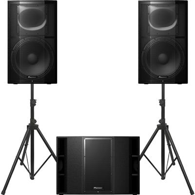Image of Pioneer DJ XPRS 15 & 1 x XPRS 215S Package