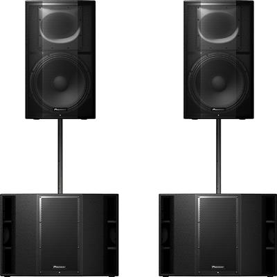 Image of Pioneer XPRS 15 & 2 x XPRS 215S Package